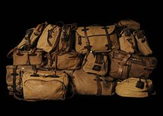 Filson bags - all shapes and sizes