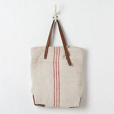Vintage Stripe Tote in Spa+Accessories ACCESSORIES Bags at Terrain