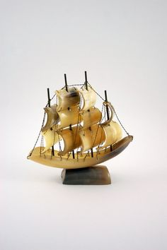 Horn Sailing Ship by Bit of Butter