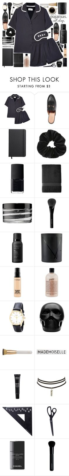"""""""Tears are rollin' down my face, now you gotta go"""" by pure-and-valuable ❤ liked on Polyvore featuring DKNY, Gucci, Shinola, Miss Selfridge, NARS Cosmetics, Royal Velvet, Boscia, Living Proof, MAC Cosmetics and philosophy"""