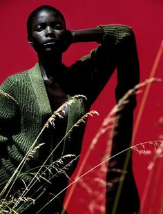 The Libertine Magazine. 'Cocoon'. Jeneil Williams By Julia Noni For Vogue Germany. September 2013. 8