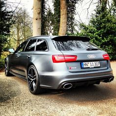 Audi | 2013 RS6 Avant. @margauxstevens hand me a box of tissues please.. O:)
