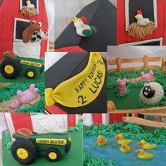 Barn Cake Details