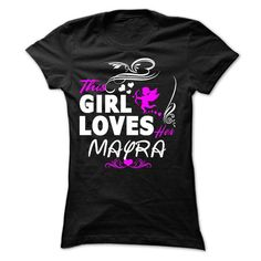 This girl loves her MAYRA - #tshirt logo #sweater. TAKE IT => https://www.sunfrog.com/Names/This-girl-loves-her-MAYRA-Ladies.html?68278