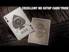 Do you want to make your family and friends fascinated by your enthralling magic trick performance? You could fulfill your wish by acquiring easy card magic tricks. As magic tricks are the most enticing skill that people dream to Magic Tricks Videos, Cool Magic Tricks, Easy Magic, Tarot, Cool Playing Cards, Card Companies, Card Tricks, Deck Of Cards, Card Deck