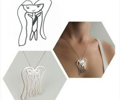 Creative Ideas - Transform Your Kid's Drawings Into Unique Pieces Of Jewelry