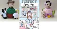 Last day to enter the #competition!! Winners drawn TODAY at 6pm http://www.lornasixsmith.com/win-a-farmer-or-farmers-wife-tea-cosy-pattern/ Good Luck everyone!!