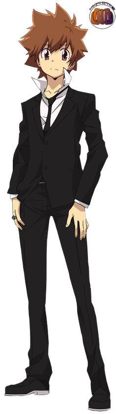 Tsunayoshi Sawada, irmão adotivo de Miyuki Sawada