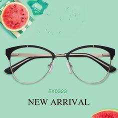 90a74b3dba8 Jane Cat Eye Glasses FX0323-01 Prescription Glasses Online