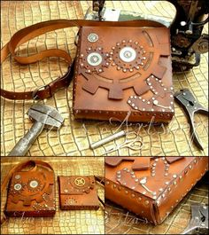 d40ba0ae4b3 New Fantasy Imported Fresh From The Other World Steampunk Shoulder Bag by  izasartshop