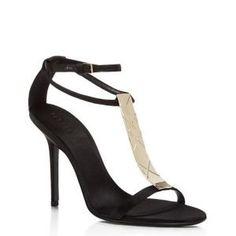 40% off Burberry - Sandals Irvington T-Strap Black - $465 #burberry #sandals