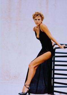 "actressesmodels: ""Charlize Theron """