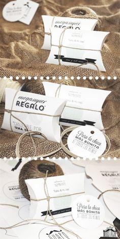 SOBRES PARA REGALO - DIY #wrapping #gifts