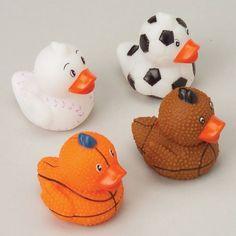 Mini Rubber Ducks In Sports Themes, Mini Games, Toys, Prizes And Novelties, http://www.amazon.com/dp/B002WAV5T6/ref=cm_sw_r_pi_awdm_ztRHtb0R0RWE6