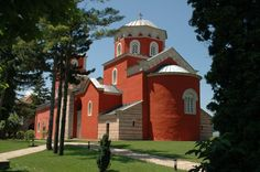 Žiča is an early 13th-century Serb Orthodox monastery near Kraljevo, Serbia. The monastery, together with the Church of the Holy Dormition, was built by the first King of Serbia, Stefan the First-Crowned and the first Head of the Serbian Church, Saint Sava.  Žiča was the seat of the Archbishop (1219–1253), and by tradition the coronational church of the Serbian kings, although a king could be crowned in any Serbian church, he was never considered a true king until he was anointed in Žiča.