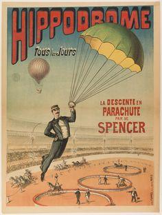 Anoniem, Imprimerie Grant&Co, Hippodrome: le ballon monstre, ca 1875-1885, © Musée Carnavalet / Roger-Viollet