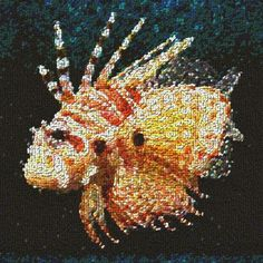 Lion Fish Jelly Belly art