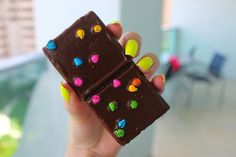 delicious rich chocolate and sweet colorful candies!!