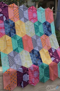 True Colors Blog Hop & Giveaway | Jaybird Quilts Jaybird Quilts, Strip Quilts, Blue Quilts, Scrappy Quilts, Quilting Tutorials, Quilting Projects, Quilting Designs, Sewing Projects, Quilting Ideas