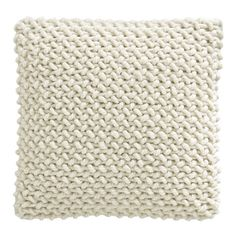 Reminder to start experimenting with knit/crocheted pillows.  Maybe using jersey for a no-fuzz feel.