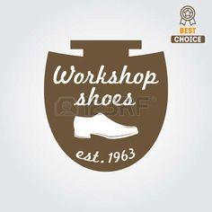 ヴィンテージの要素、靴屋のショップの靴し、靴修理 photo