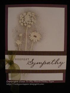 CTMH Sympathy Card