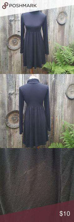 Soft and Stretchy Turtleneck Dress One flaw which is pictured. Used condition. MAKE AN OFFER. BUNDLE AND SAVE. Personal Identity Dresses