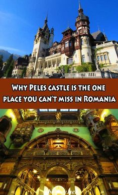 Not only was Peles Castle our sightseeing highlight in Romania, it's the most beautiful castle we've seen. All about that in this post #bbqboy #Peles #Sinaia #Romania #travel