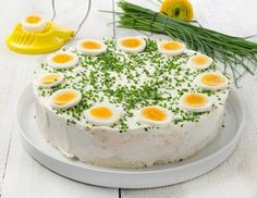 at - Pikante Sandwichtorte – Rezept – ichkoche.at You are in the right place about salatka jarzynowa - Brunch Buffet, Party Buffet, Party Finger Foods, Party Snacks, Sandwich Torte, Salami Sandwich, Baking Recipes, Snack Recipes, Vegetarian Recipes