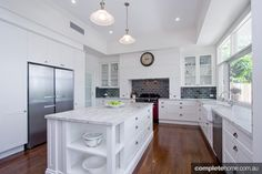 grey kitchen benchtops - Google Search