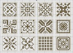 To Use with the Owl Quaker Ball: Squares Cross Stitch Bookmarks, Beaded Cross Stitch, Cross Stitch Borders, Cross Stitch Samplers, Cross Stitch Designs, Cross Stitching, Cross Stitch Embroidery, Cross Stitch Patterns, Pixel Pattern