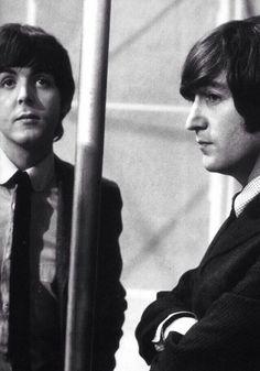 Paul McCartney and John Lennon (Double II)