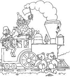 "The Little Engine That Could Coloring sheets, free and printable! www.practickle.com Literacy is a ""hoot"""