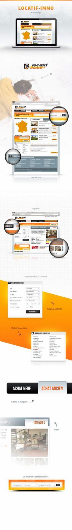 Webdesign du site Locatif Immo (pour l'agence Publika) Album