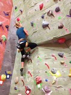 Indoor rock climbing:  A character building playground
