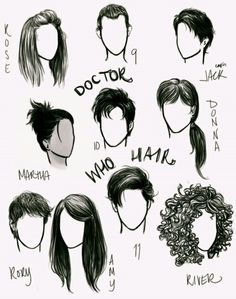 Doctor Who hair