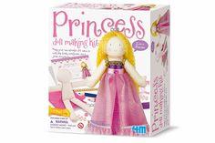 Maak je eigen prinsessenpop.