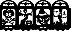 Outdoor Halloween, Halloween Crafts, Halloween Decorations, Bricolage Halloween, Halloween Printable, Outdoor Decorations, Halloween Stuff, Cricut Christmas Ideas, Silhouette Projects