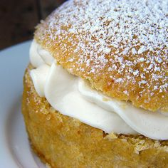Fastelavnsboller recipes in English from the E.A.T World: Denmark blog