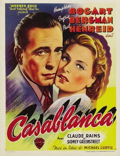 Casablanca (1942) had to watch this for school and write a report