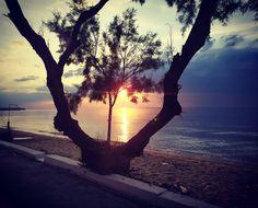 Μία φωτογραφία, χίλιες λέξεις! 📌tags @ektaktanea.gr or use #ektaktaneagr for reposts #δεντρα  #θαλασσα  #ηλιος  #τοπίο  #αμμος  #may  #καλόβράδυ  #ektaktaneagr  #ektaktanea Celestial, Sunset, Outdoor, Outdoors, Sunsets, Outdoor Games, The Great Outdoors, The Sunset