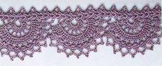 Crochet Circular Lace Edge pattern.