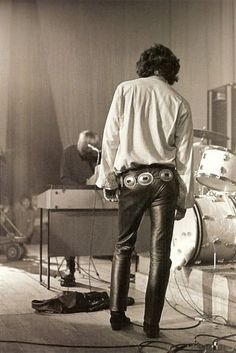 Jim Morrison...I have a shirt that looks like this