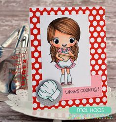 Stamp AnnieThing's April Stamp Sneak Peeks Day Two :: What's Cooking