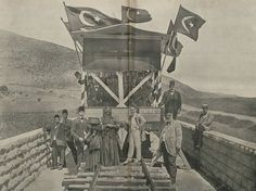 Ottoman Hijaz Railway, Damascus-Haifa Line, 1903 (Osmanlı Hicaz Demiryolu, Şam-Hayfa Hattı).