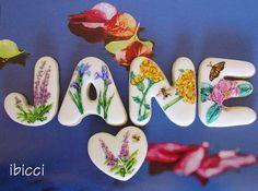 Flowery Jane Cookies By Kat Rutledge - Ibicci http://www.facebook.com/ibiccinz