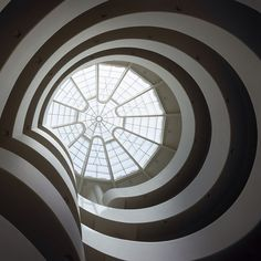 Happy #PiDay! We're a big fan of circles at the Guggenheim.   Photo by guggenheim