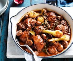 Mandarine Recipes, Sausage Cassoulet, Fish Casserole, Lamb Stew, Cottage Pie, Slow Cooker Soup, Bacon Mushroom, How To Cook Chicken, Food Inspiration