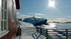Midten i hjertet av Lofoten.
