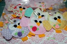 Ju Crafts!: Meus xodós!!! As corujas!!!! Cute  owls!!!!